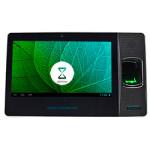 relógio de ponto biométrico tipo ipad pela leitura da biometria da impressão digital e cartão RFID